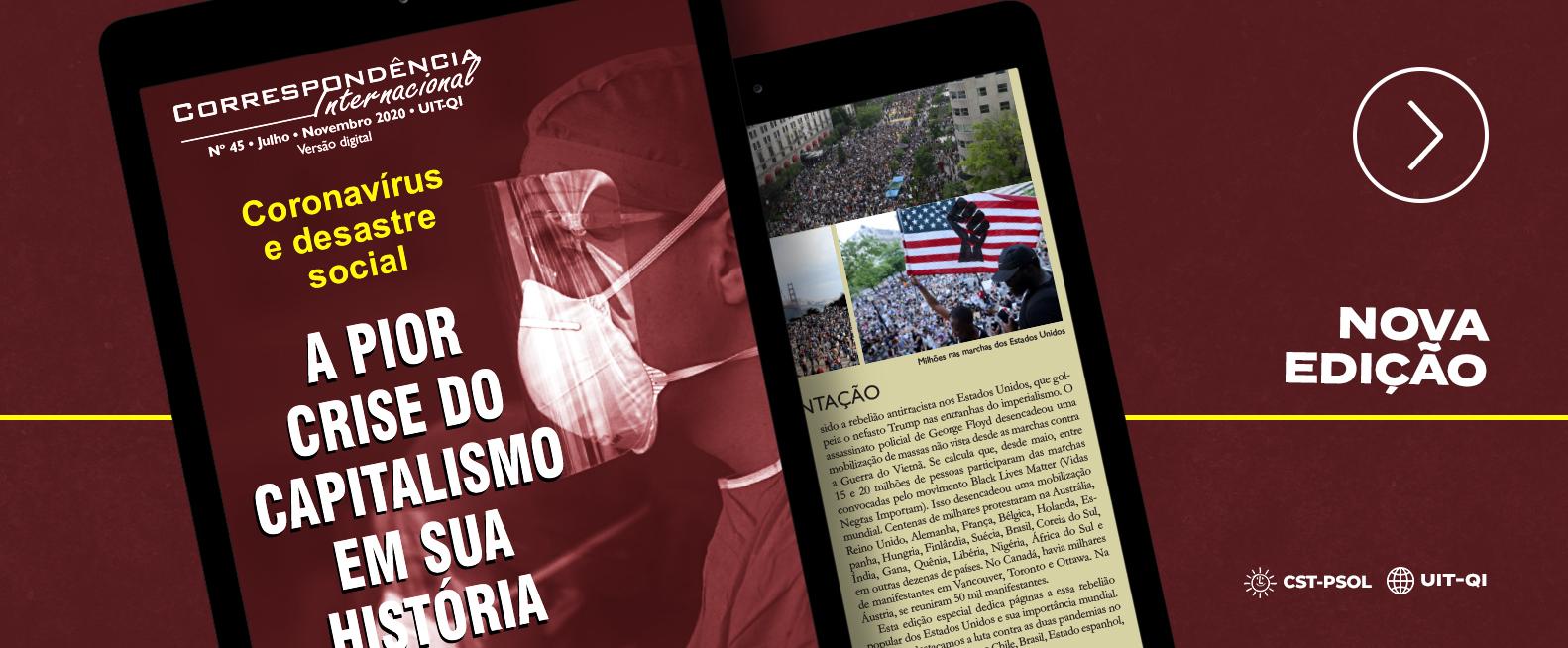 Nova edição da Revista Correspondência Internacional